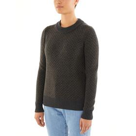 Icebreaker Waypoint Crew sweater Damer, brun